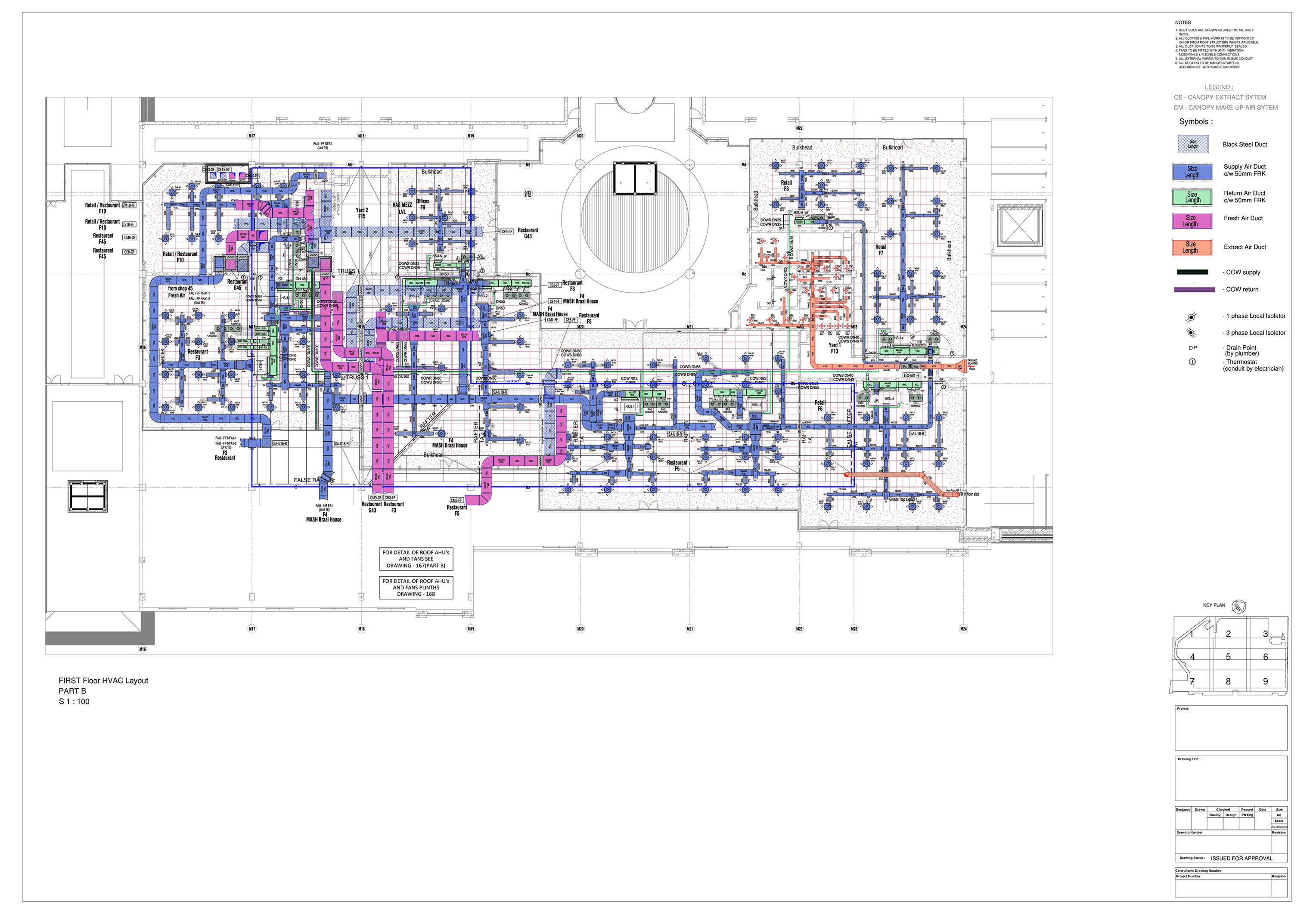 Oda Design Drafting Hvac Services Consulting Cad Drawing